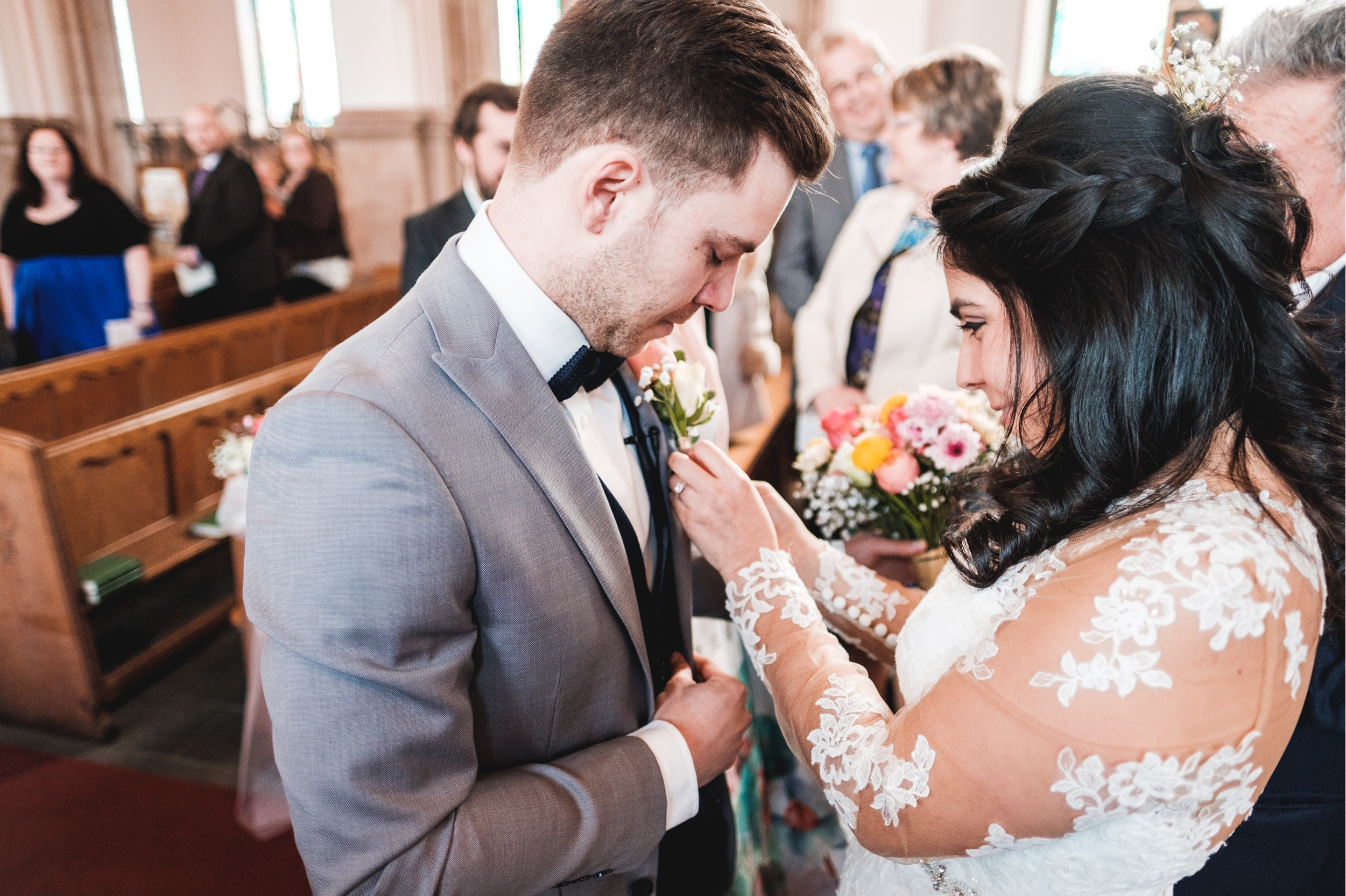 Nathan + Isabel's Wedding Film at the Liver Building Liverpool