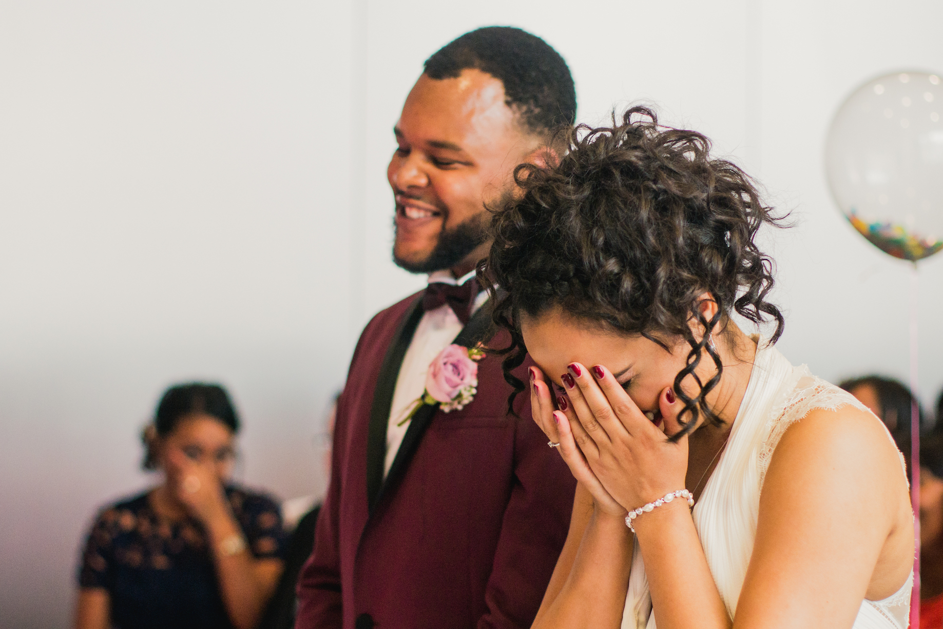 Ashely + Carla's Wedding at Hope Mill Theatre