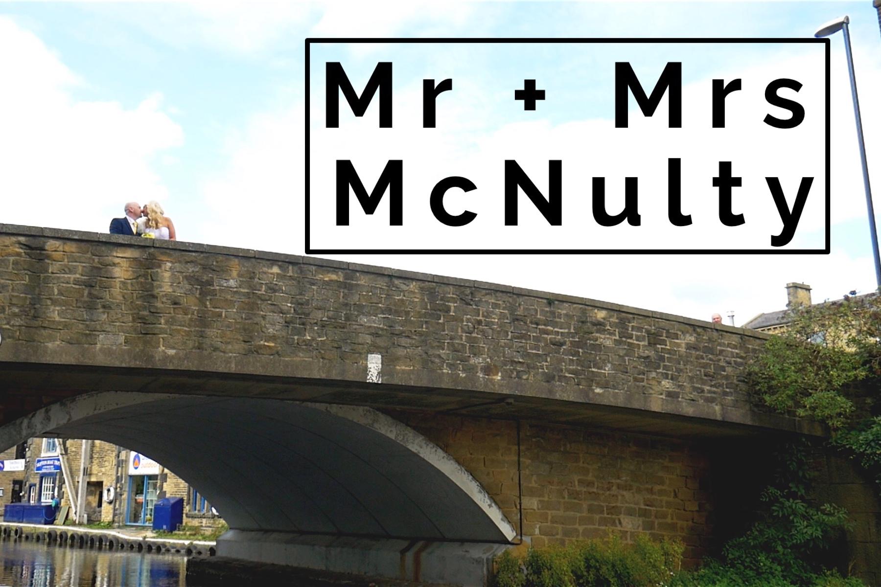 Mr + Mrs McNulty's Wedding Film in Skipton, Yorkshire