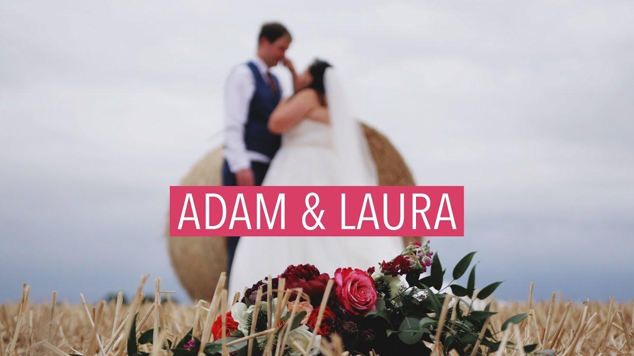 Adam + Laura's Wedding Film at The Normans, York