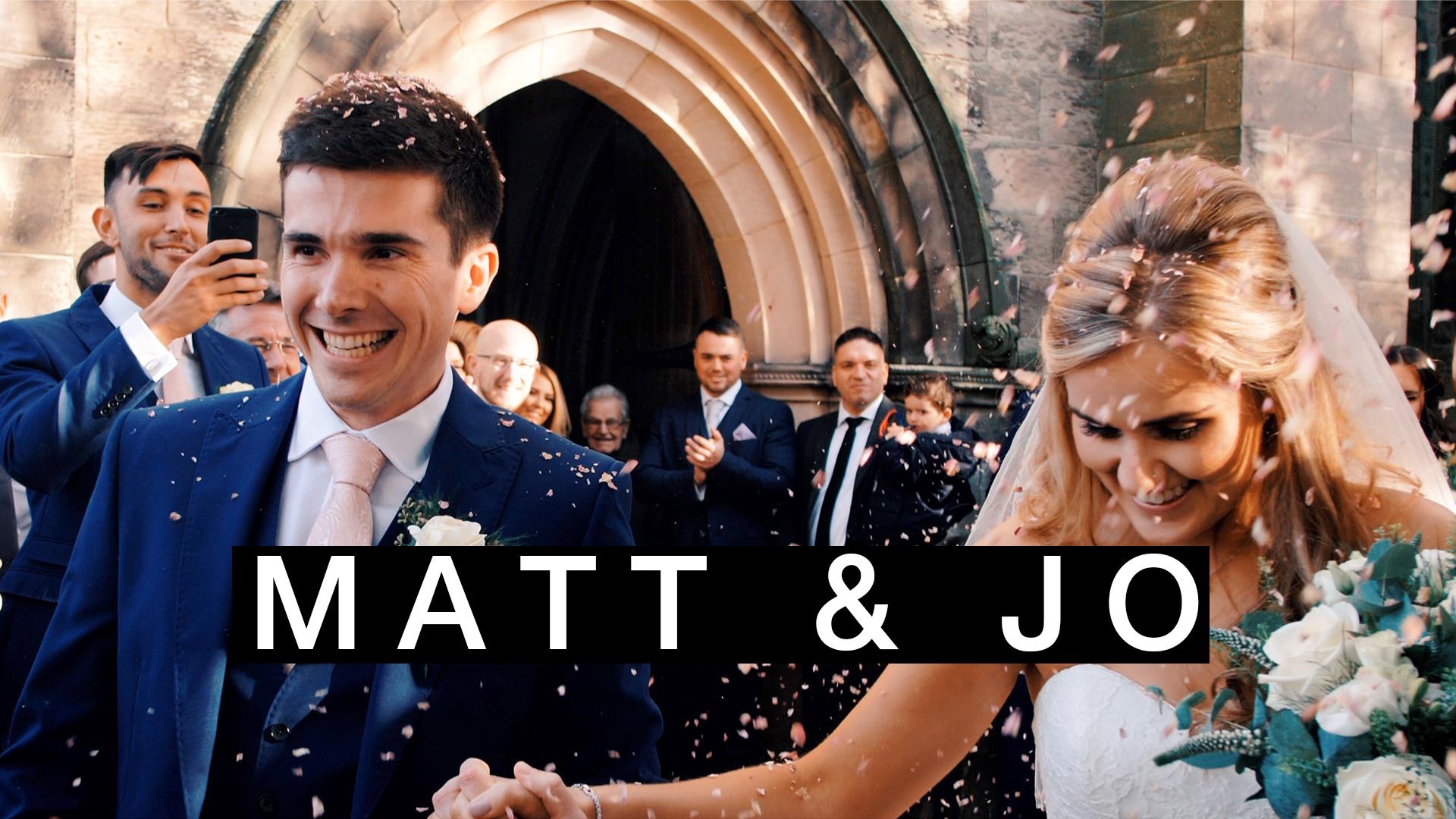 Matt + Jo's Wedding Short Film at the Titanic Hotel Liverpool