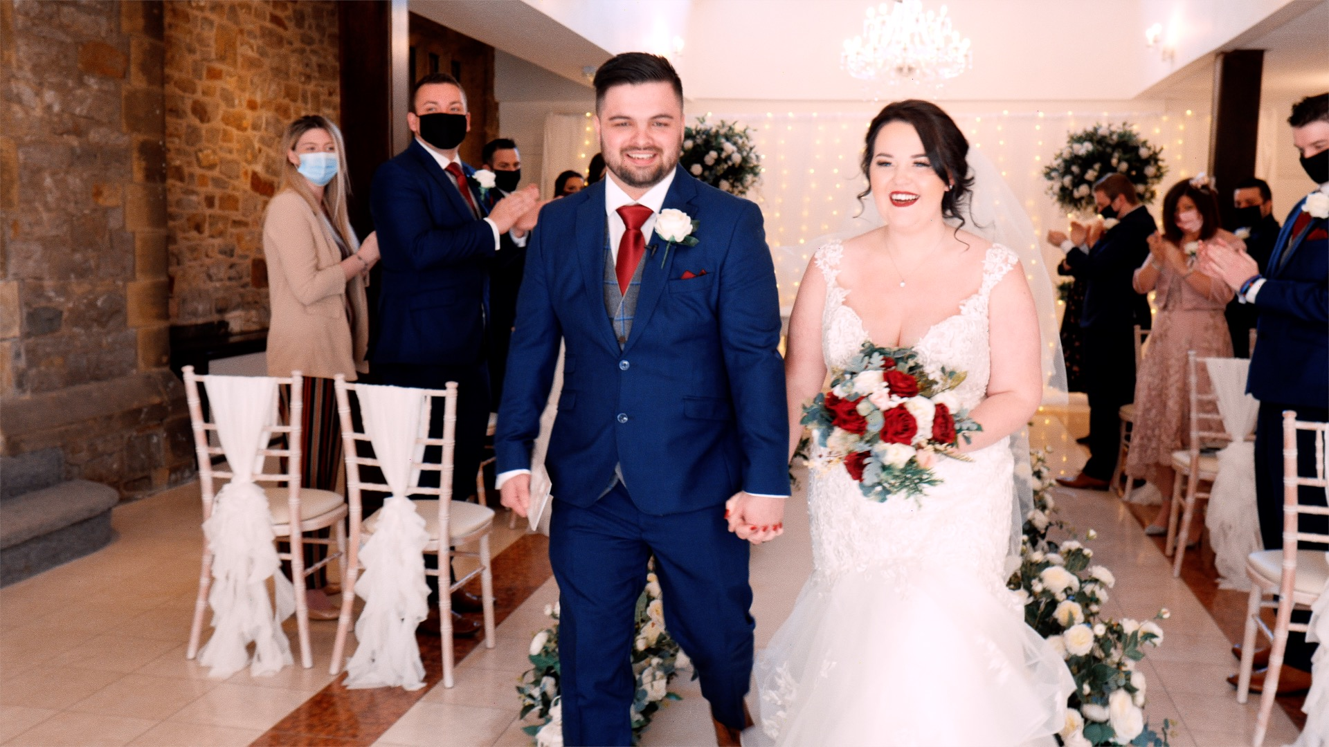 Ryan & Lacey's Wedding Film Highlights at Stirk House, Clitheroe