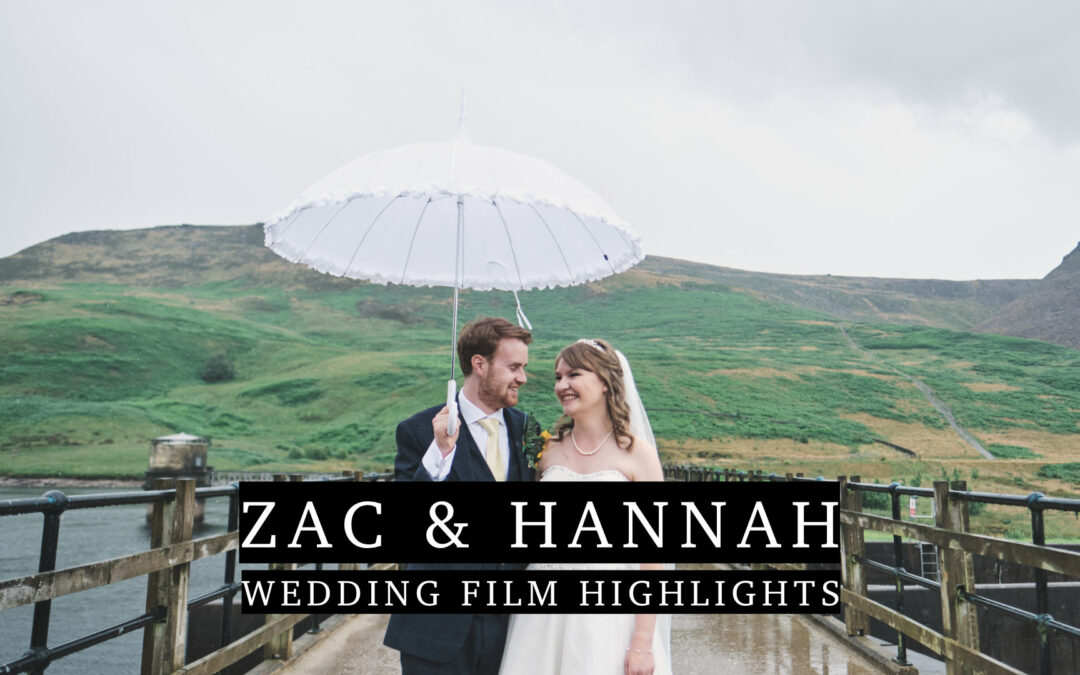 Zac & Hannah's Wedding Highlights film at The White Hart Inn at Lydgate